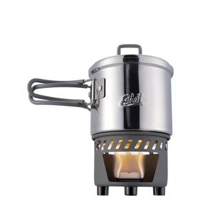 Solid fuel cooksets