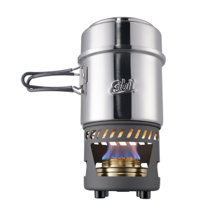 Cooksets with alcohol burner